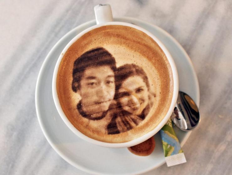 Le selfie coffee, la dernière tendance en matière de café